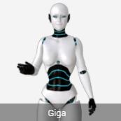 Toon Avatar Giga Robot