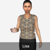 Premium Avatar Lisa