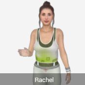 Premium Avatar Rachel