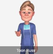 Toon Avatar Russ
