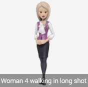avatar female blond